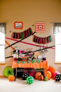 Kids halloween decor