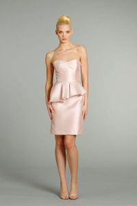 Peplum Bridesmaid